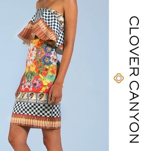 Clover Canyon Cuban Cigars Dress XS Multicolor